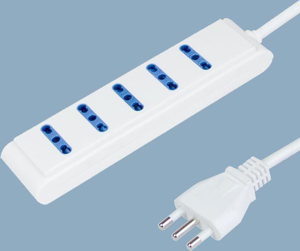 Extension Socket 5 Way Power Strips
