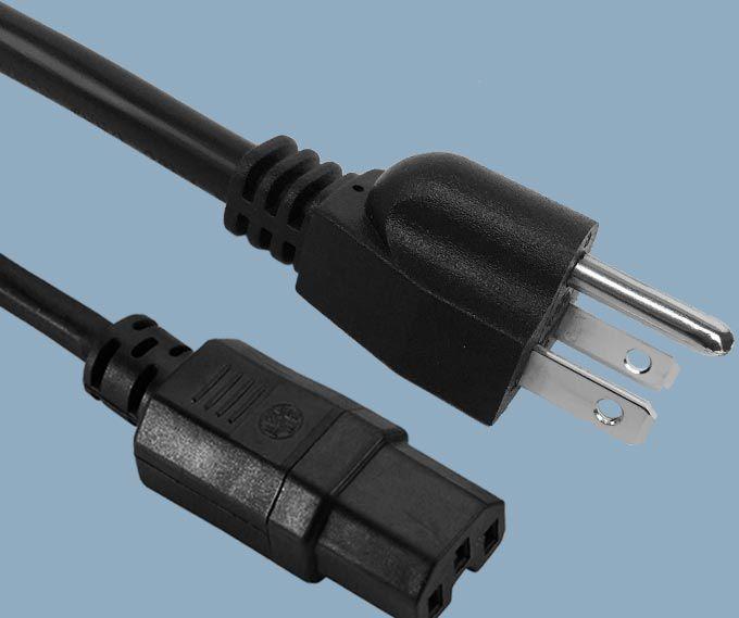 Japan JIS 8303 PSE Plug to IEC 60320 C15 Power Cord