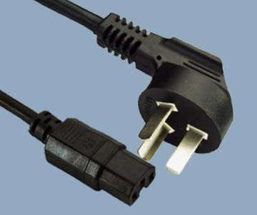 IEC C15 to China CCC power cord