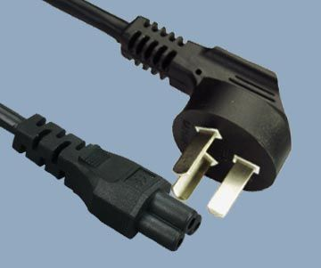 IEC 60320 C5 to China CCC Power Cord
