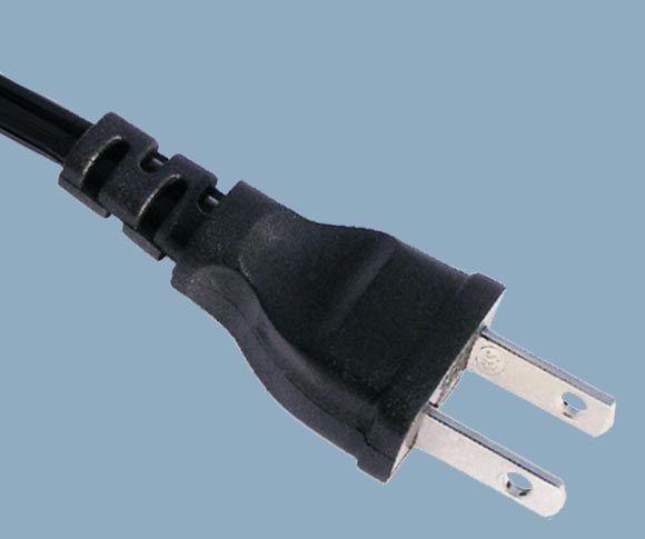 Japan JIS 8303 PSE JET 2 Prong 7A Low Profile Plug Electric Cord