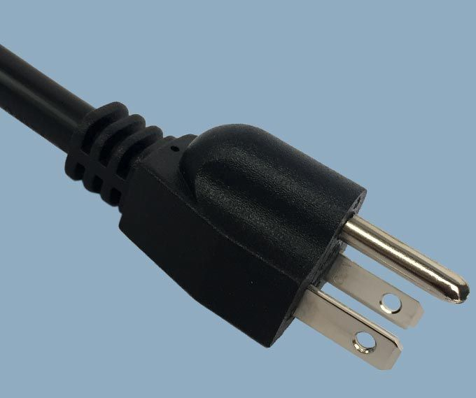 Japan JIS 8303 PSE JET 3 Prong 15A Plug Standard Power Cord