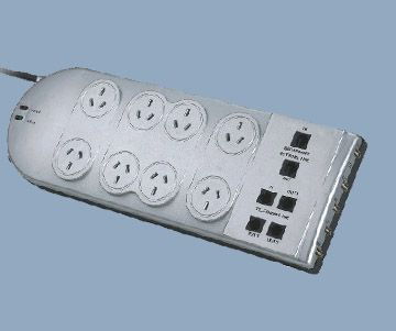 Surge Protector 8 Outlet Circuit Breaker SPD Type