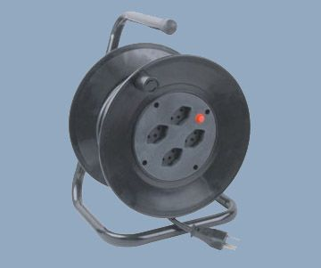 Swiss Type Four Outlet Max 30 meters Cable Reel