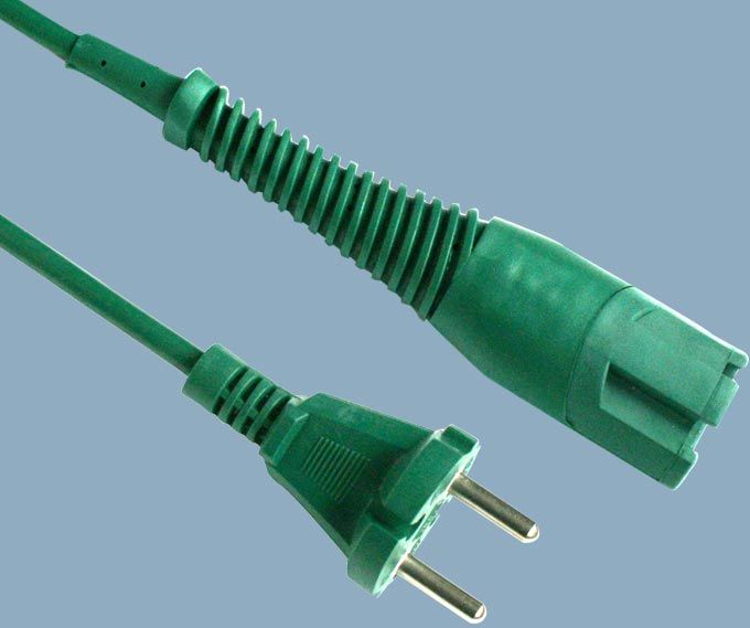 Europe CEE7/17 Plug to Vorwerk Kobold VK130/131 Vacuum Cleaner Power Cord