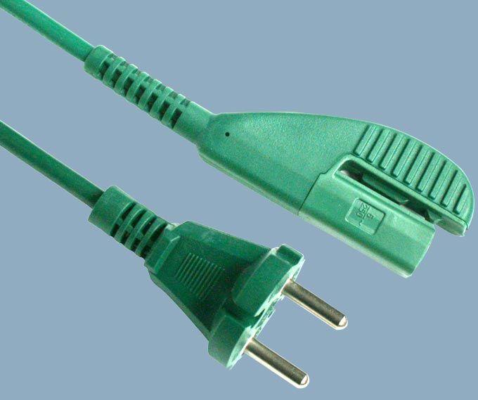 Europe CEE7/17 Plug to Vorwerk Kobold VK135/136 Vacuum Cleaner Power Cord