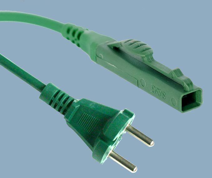 Europe CEE7/17 Plug to Vorwerk Kobold VK140 Vacuum Cleaner Power Cord